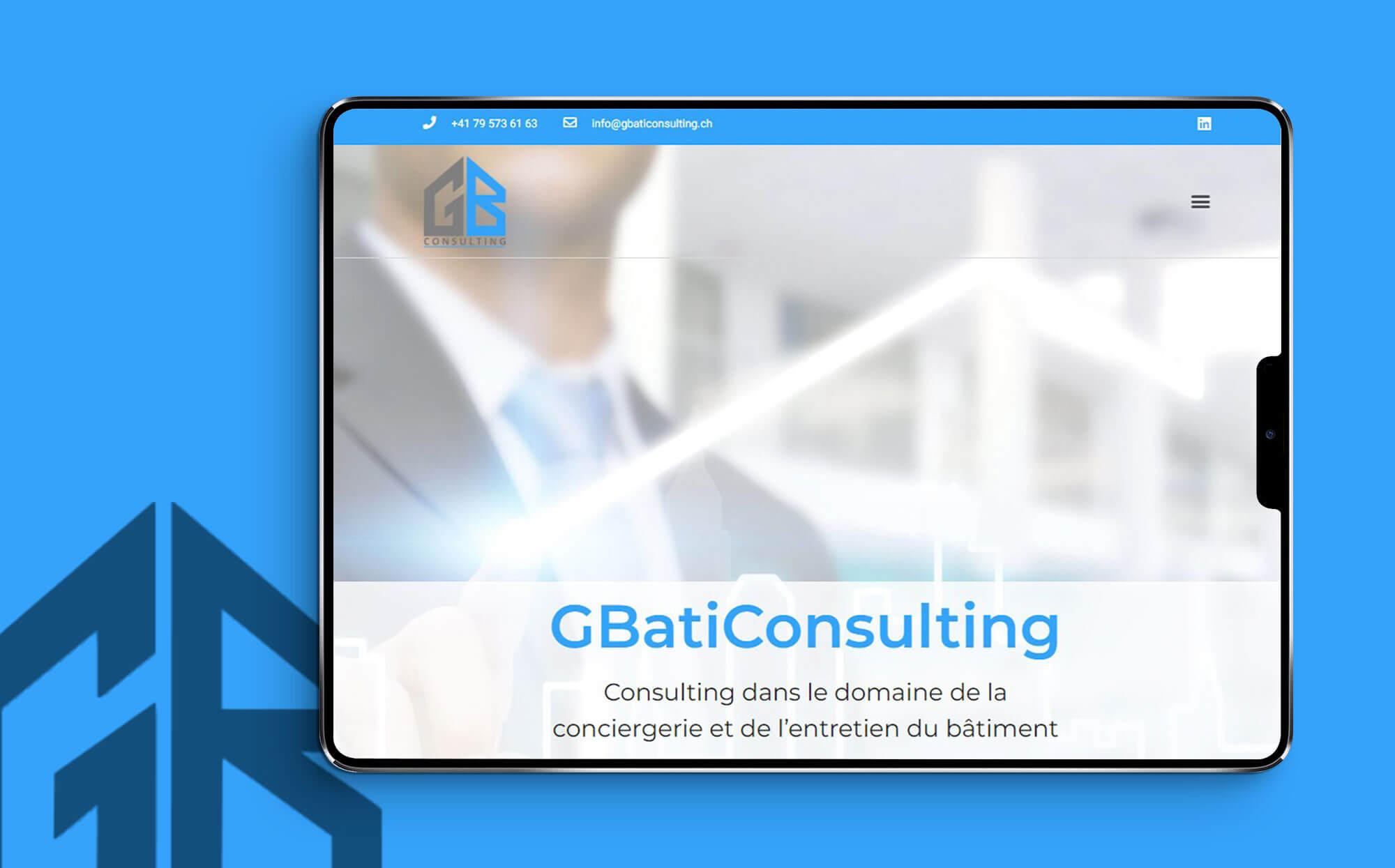 Gbaticonsulting site internet