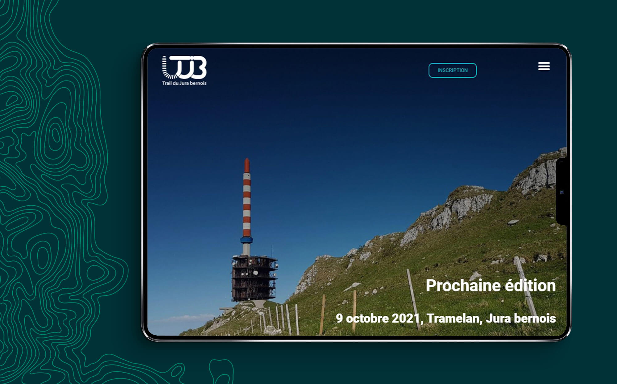 Site internet Trail du Jura bernois