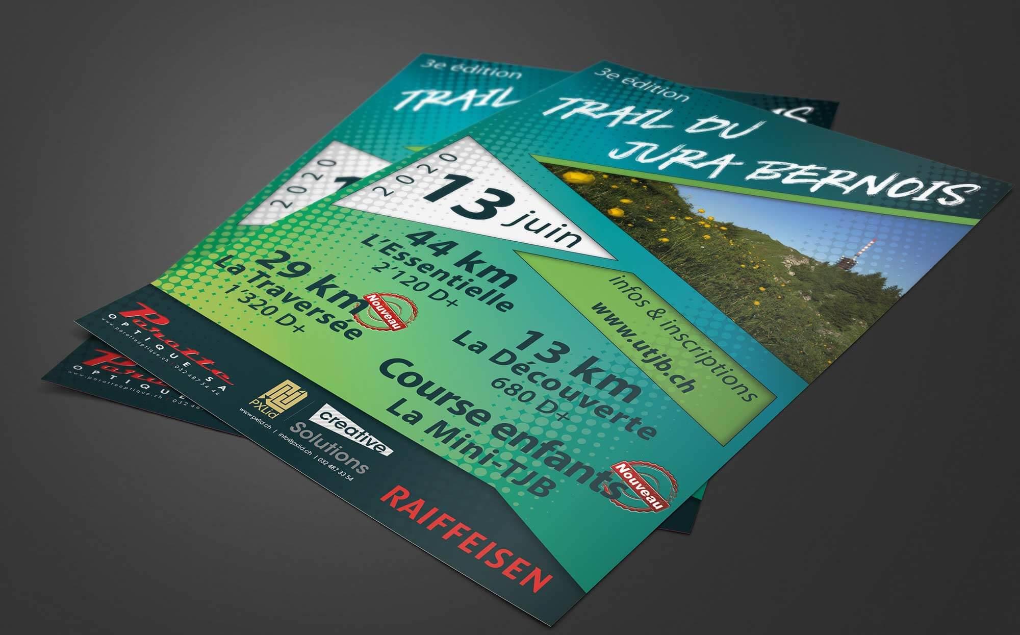 Trail du Jura bernois flyer 2020