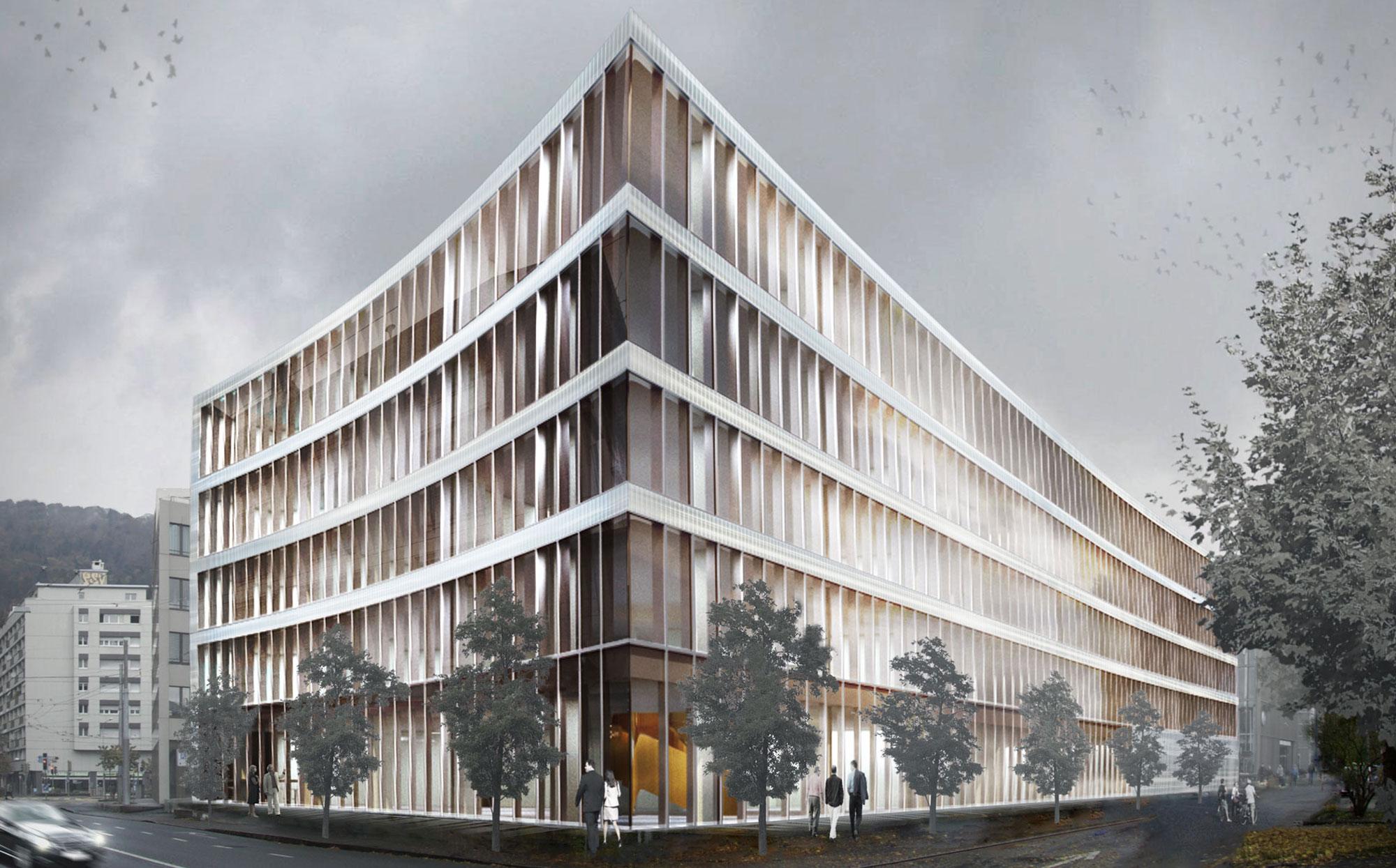 visualisation bâtiment extérieur