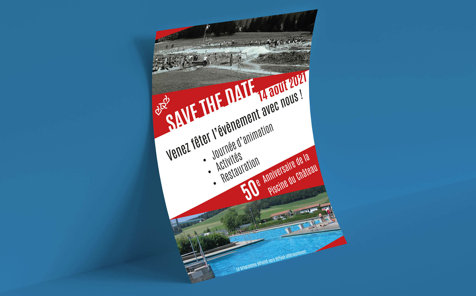 flyer 50ans piscine Tramelan