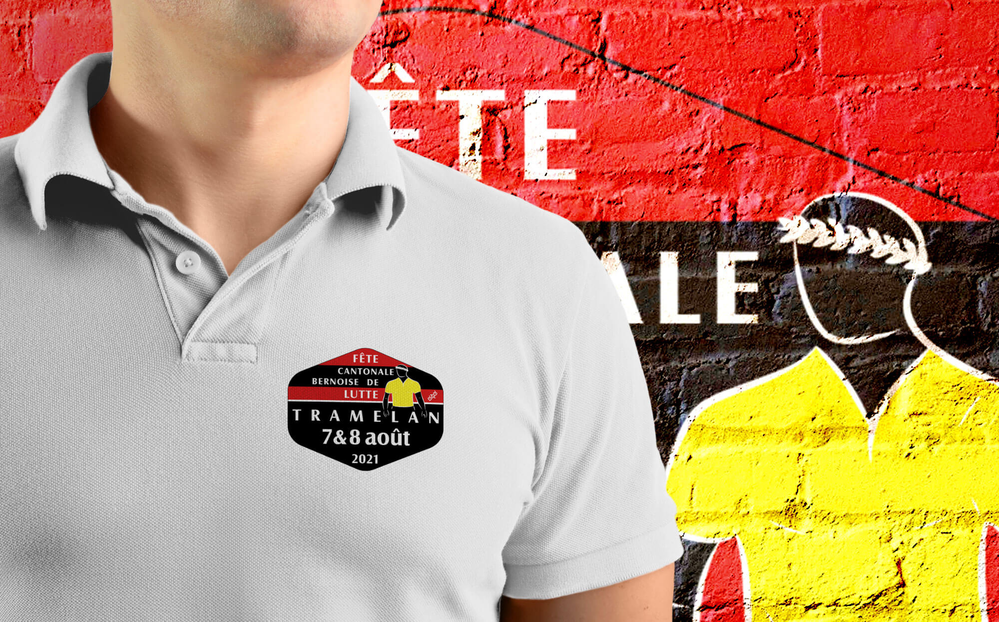 Chemise Fête cantonale bernoise de lutte